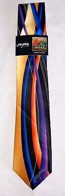 Jerry Garcia Tie Grateful Dead NWT Modern Furniture (Orange/Multicolor) Jerry Garcia Modern Furniture