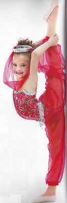 Hot Shot Dance Costume Genie HAREM PANTS ONLY Clearance Adult X-Large