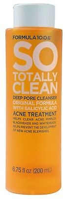 So Totally Clean Deep Pore Cleanser 6.7 oz TEN-O-SIX Lotion Bonne Bell All Skin