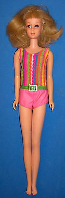 Vintage #1170 Blonde Flip TNT Francie Doll BL 1966 Rooted Lashes OSS Barbie
