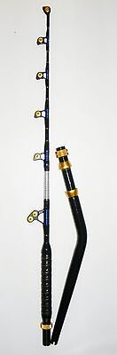 "OKIAYA VENOM PRO BENT BUTT FISHING ROD 80-130 LB. ""THE REEPER"""