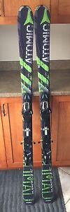 157 Atomic Blackeye Ti Skis and Nordica 7.5 Hotrod Boots