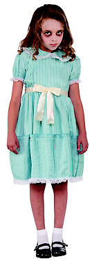 The Shining Twin Sister Girls Costume Dress Grady Daughters Creepy Movie Child