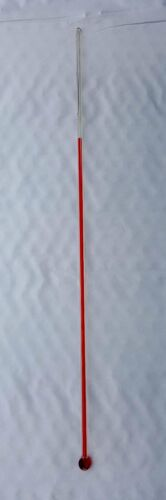 """Thick Glass Thermometer 12.00""""  x 3/16"""" Replacement Glass Bulb Style 12"""" scale"""