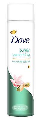 3 x Dove verwöhnendes Körperöl  pflegend mit Pistazie & Magnolienduft je 150ml