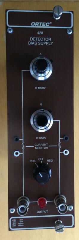 Ortec Type 428 Detector Bias Supply NIM Module