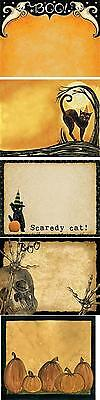 NOTE PAD-60 sheets-Halloween Design Pads w/Funny Sayings & Pictures-Your Choice Halloween Funny Pictures
