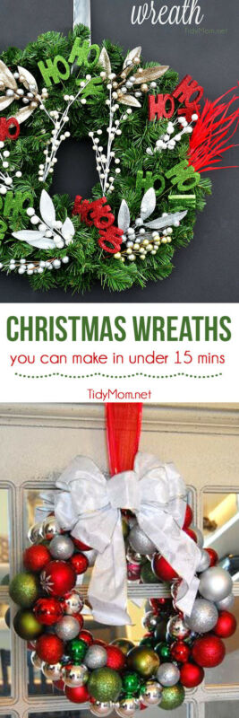 Christmas Wreath You Can Make In Under 15 Minutes Ebay