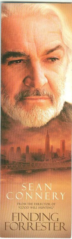 Sean Connery Finding Forrester bookmark MINT