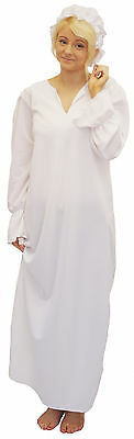 Heidi Costume Child (Peter Pan/Victorian/Edwardian/Heidi WHITE NIGHTDRESS & MOP CAP costume ALL)