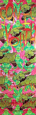 Sonic Youth 1995 Paramount Theater Seattle Original Frank Kozik Concert Poster