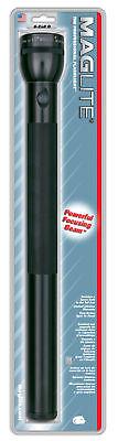 Maglite Flashlight 6D Cell Black S6D016 NEW Mag-lite Krypton Bulb