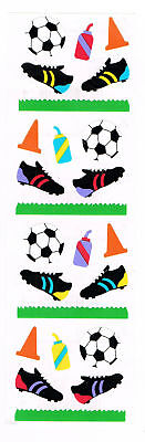 MRS GROSSMANS SOCCER GEAR STICKER STRIP BN & NLA