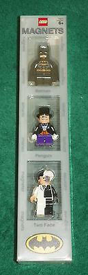 LEGO BATMAN - MINI FIGURE MAGNET COLLECTION - 3 BATMAN MINI FIGURES Batman Mini Figure Magnet