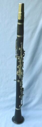 ANTIQUE/VINTAGE MUSICAL INSTRUMENT - CLARINET- LESLEY SHEPPARD, BURGESS HILL