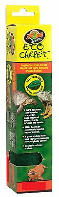 ZOO MED ECO CARPET 15 & 20 GALLON TERRARIUM LINER REPTILE LIZARD. FREE SHIP USA