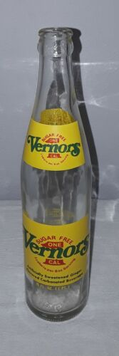VERNORS SUGAR FREE 1 CALORIE GINGER ALE 16 OZ GLASS BOTTLE