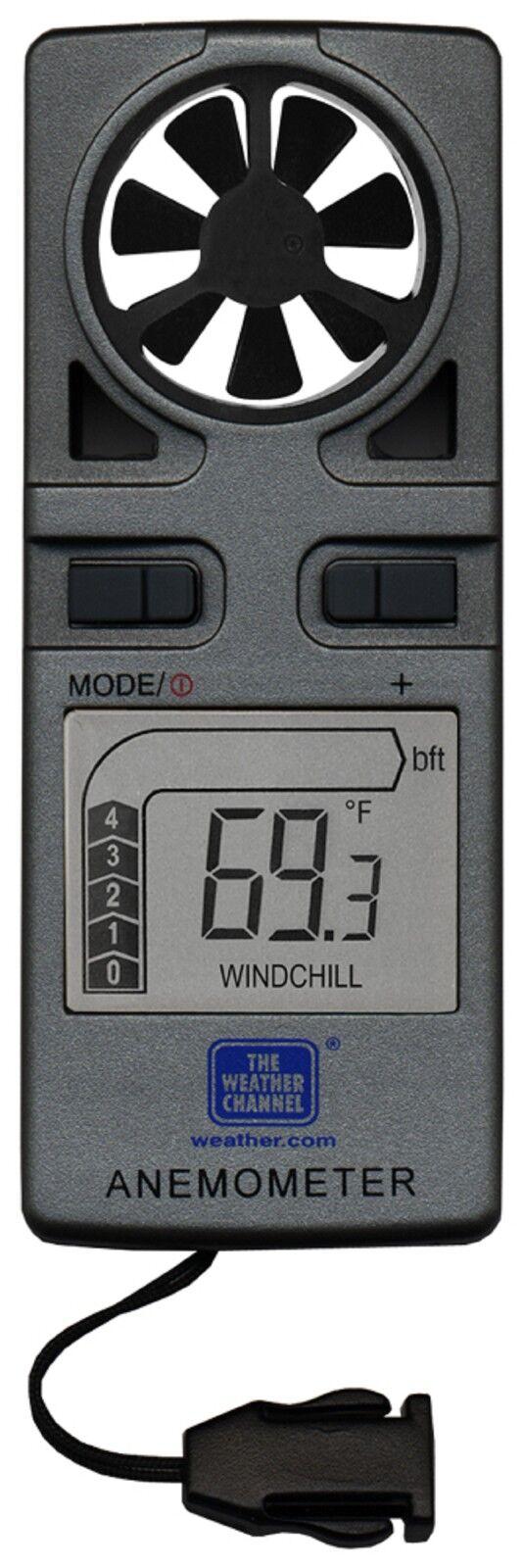 EA-3010TWC La Crosse Technology TWC Handheld Anemometer LED Backlight Neck Strap