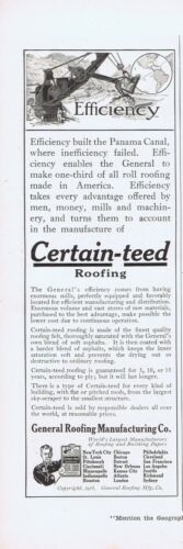 1916 Advertisement - GENERAL ROOFING MANUFACTURING CO., ST. LOUIS, MO