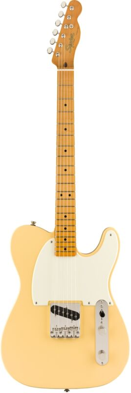 SQUIER FSR Classic Vibe '50s ESQUIRE, Maple Fingerboard, Vintage White