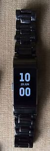 FITBIT CHARGE 2.  WITH 3 STAINLESS STEEL BANDS