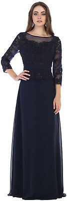 DESIGNER BANQUET EVENING GOWN MOTHER of the BRIDE CHURCH SPECIAL OCCASION DRESS