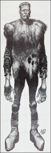 """Vintage Jack Davis """"6 Foot Frankenstein"""" Sold in Famous Monsters of Filmland"""