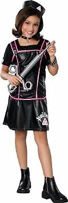 Black goth Gothic Cool Poison Nurse Halloween costume Girls kid child S or L  - Cool Halloween Costumes Girl