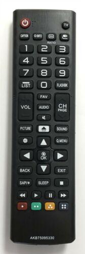 New Usbrmt Tv Remote Akb75095330 For Lg Smart Tvs Sub Akb74475433 Akb73975702