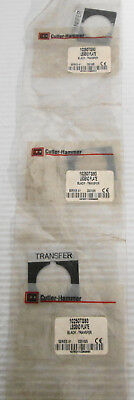 3 Cutler-hammer 10250ts93 Legend Plate Transfer Black