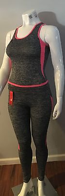 Workout Yoga Gym Exercise Outfit Clothes Fitness Athletic Sets SAME DAY SHIPPING