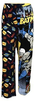 DC Comics Mens Batman Lounge Sleep Pajama Pants New M, L