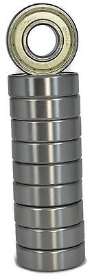 6203-zz Metal Shielded Ball Bearing 17x40x12 Qty. 10