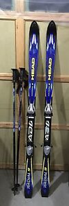 HEAD Radial 9 downhill Skiis with matching poles