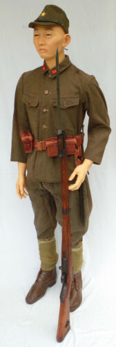 Japanese Asian Military Mannequin, EXTRA SMALL Sizes, 5