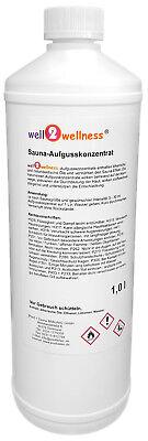 Saunaaufguss / Saunaduft 'TOP 60' - Die 60 besten well2wellness® Saunadüfte