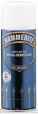 HAMMERITE Metallschutzlack Matt 400 ml Schwarz Metall-Schutz-Lack