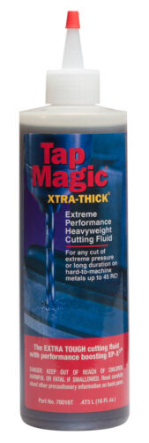16oz Tap Magic Cutting Fluid Extra Thick for Hi-Temp & Hard Alloys 45Hrc 70016T