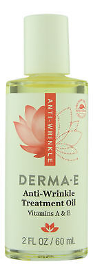 Derma E Anti-Wrinkle Treatment Oil 2 oz 60 ml. Sealed - Derma Treatment