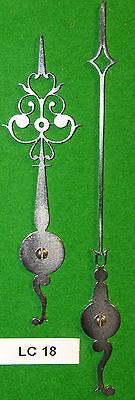 Antique clock hands from original design (Longcase clock) LC18 'Made in England'