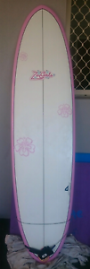 Mini mal surfboard about 190cm long (7ft ish), like new. Warana Maroochydore Area Preview