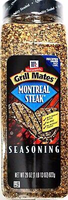 McCormick Grill Mates Montreal Steak Seasoning, 29 Ounce (822g) Jar
