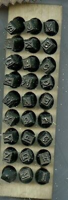 Young Brothers Steel Stamps Reversed Heavy Duty 316 Letters Hands Stamps