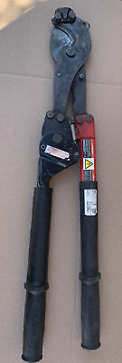 Hk Porter 8690fh Ratchet Type Hard Cable Cutter Soft Rods Bolts