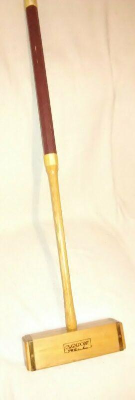 Professional Croquet Mallet Wooden CLARK POINT