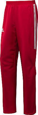adidas  T12 Teamhose Männer rot X12865, Team Hose, Sporthose, Teamwear