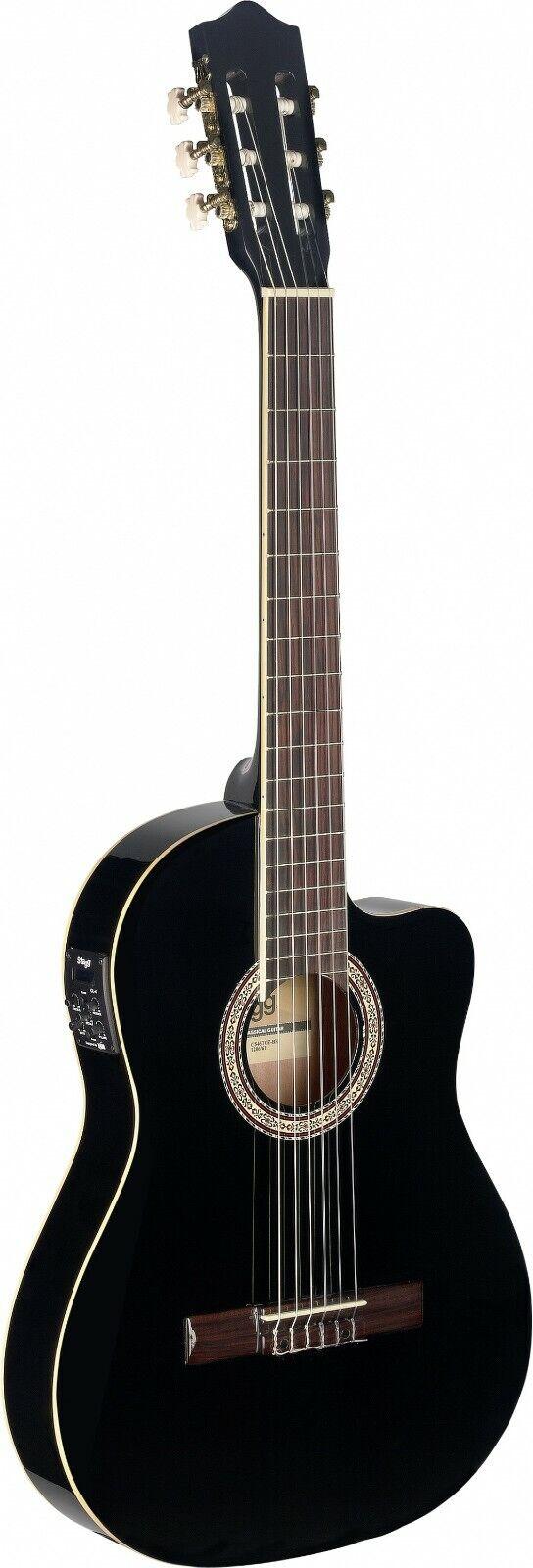 C546TCE-BK Elektroakustik Gitarre Konzertgitarre