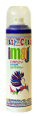 Haarspray Color Spray Farbspray Haarfärbung Fasching Karneval Party schwarz rot