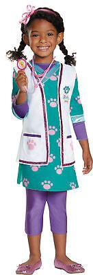 Doc Mcstuffins Pet Vet Deluxe Child Girls Costume Disney Fancy Dress Halloween