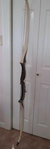 "Vintage TamerLane Bear Recurve Bow 5C180 69"" 38# Archery Hunting 1953 Good Cond"